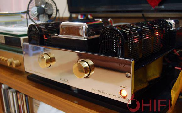 英国胆机制造厂ear(全名为esoteric audio research)于一九七九年成立